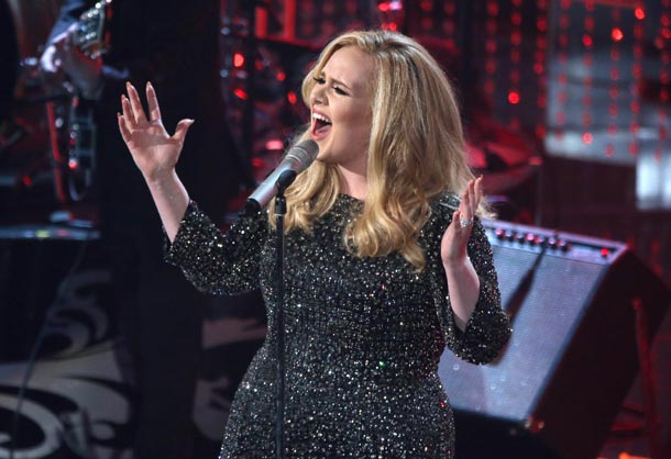 Oscars 2013: Adele's emotional acceptance speech and comeback