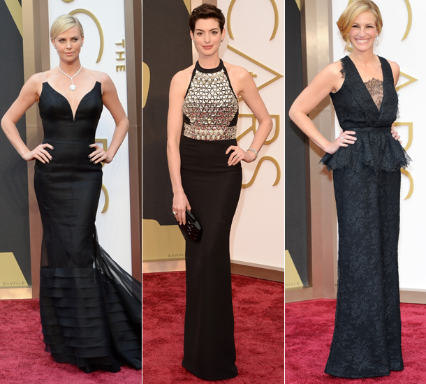 black red carpet dresses