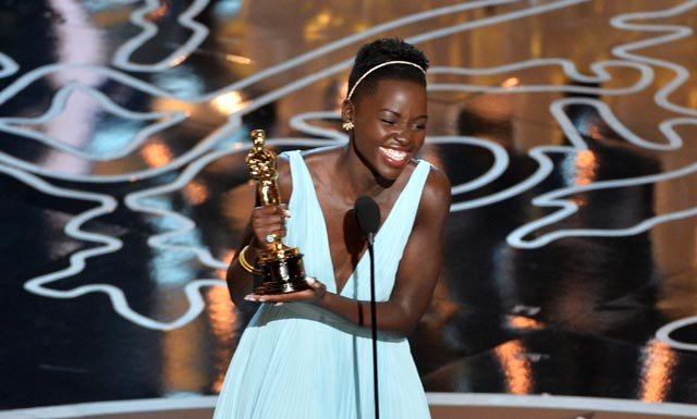 Lupita Nyong'o admits 'I haven't even slept yet' following Oscars win