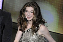 Anne Hathaway steals the show with eight wardrobe changes